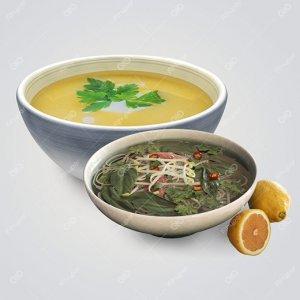 سوپ، آش و نودل