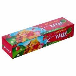 خمیر دندان ژله ای کودک با طعم توت فرنگی پونه 50 گرم