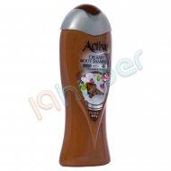 شامپو بدن کرمی شکلاتی اکتیو 400 گرم