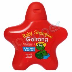 شامپو بچه 2 ستاره ای قرمز گلرنگ 210 گرم