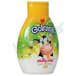 شامپو کودک حاوی پروتئین هیدرولیز شده شیر و ویتامین گلرنگ 250 گرم
