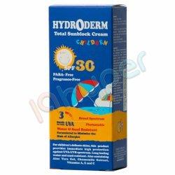 کرم ضد آفتاب کودکان با SPF 30 هیدرودرم 50 میلی لیتر