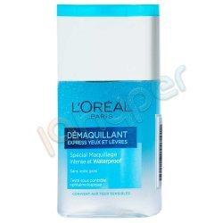 محلول پاک کننده آرایش چشم و لب لورآل 125 میلی لیتر