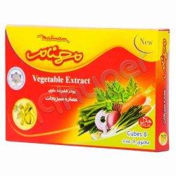 پودر فشرده حاوی عصاره سبزیجات مهنام 8 عدد