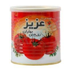 رب گوجه فرنگی عزیز تک چین بهاران 800 گرم