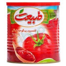 کنسرو رب گوجه فرنگی طبیعت 800 گرم