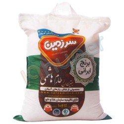 برنج طارم هاشمی سرزمین 10 کیلوگرم