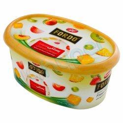 بستنی همراه با میوه های تازه فصل فوردو کاله 750 گرم