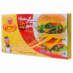 همبرگر مخصوص با پنیر 60 درصد گوشت دمس 4 عدد