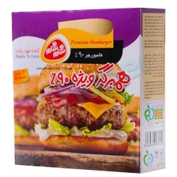 همبرگر ویژه 90 درصد شام شام 4 عدد