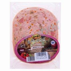 کالباس قارچ و گوشت 55 درصد دمس 300 گرم