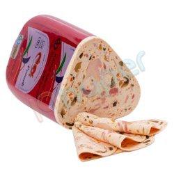 کالباس کرات مخلوط گوشت قرمز و مرغ و قارچ 70 درصد پونه فله ای