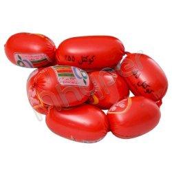 سوسیس کوکتل 55 درصد گوشت قرمز شام شام فله ای
