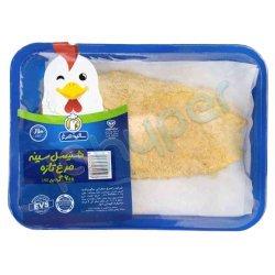 شنیسل سینه مرغ تازه سالیذ مرغ 600 گرم