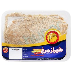 شنیسل سینه مرغ شیراز مرغ