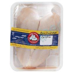 سینه مرغ کامل بدون پوست شیراز مرغ