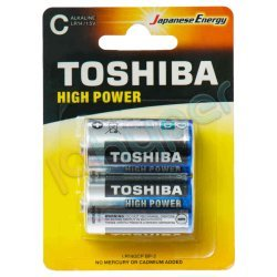 باطری high power توشیبا بسته 2 عددی