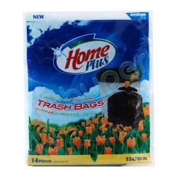 کیسه زباله متوسط هوم پلاس 14عدد