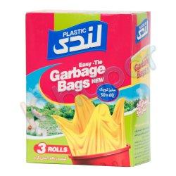 کیسه زباله آسان گره سایز کوچک زرد لندی 54 عدد