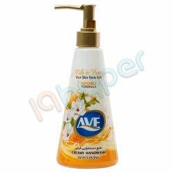 مایع دستشویی کرمی با رایحه شیر و عسل اوه 400 گرم