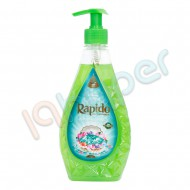 مایع دستشویی صدفی زمرد سبز راپیدو 450 گرم