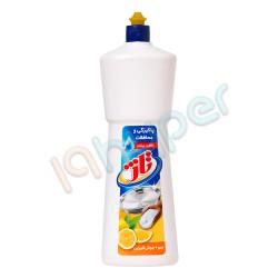 مایع ظرفشویی با رایحه لیمو و جوش شیرین تاژ 1 لیتر
