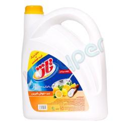 مایع ظرفشویی با رایحه لیمو و جوش شیرین تاژ 3750 گرم