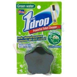 قرص فلاش تانک رنگ سبز با رایحه نعناع وحشی بلولت 1 بسته