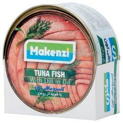 کنسرو ماهی تون با شوید در روغن مکنزی 180 گرم