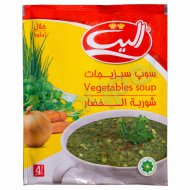 سوپ سبزیجات الیت 65 گرم