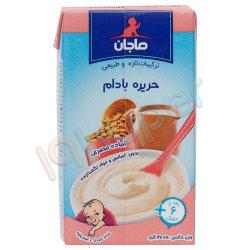 غذای کودک حریره بادام با شیر ماجان کاله 135 گرم