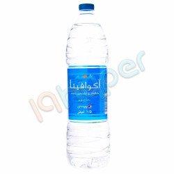 آب آشامیدنی آکوافینا 1.5 لیتر