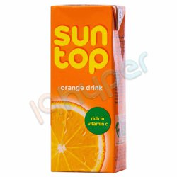 نوشیدنی پرتقالی سان تاپ 200 میلی لیتر
