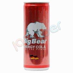نوشیدنی انرژی کولا بیگ بیر 250 میلی لیتر