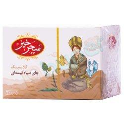 چای سیاه کیسه ای کلاسیک سحرخیز 20 عدد