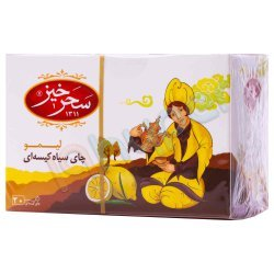 چای سیاه کیسه ای لیمو سحر خیز 20 عدد