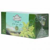 چای کیسه ای سبز پاکتدار با عطر و طعم نعنا احمد 25 عدد