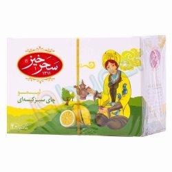 چای سبز کیسه ای لیمو سحرخیز 20 عدد