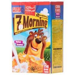 غلات صبحانه کورن فلکس 7 صبح شیرین عسل 375 گرم