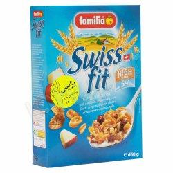 غلات صبحانه رژیمی سوئیس فیت فامیلیا 450 گرم