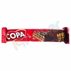 ویفر با کرم کاکائویی با روکش فرآورده کاکائویی کوپا 32 گرم