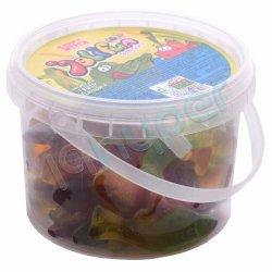 پاستیل میوه ای سطلی جلیفان شیرین عسل 300 گرم