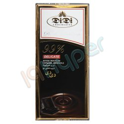شکلات تلخ 99 درصد دی دی 80 گرم