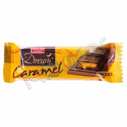 شکلات شیری با مغز کارامل دریم تابلت شیرین عسل 24 گرم