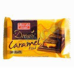 شکلات شیری با مغز کارامل شیرین عسل 48 گرم