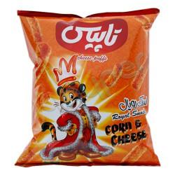 اسنک رویال با پنیر تاپیس 60 گرم